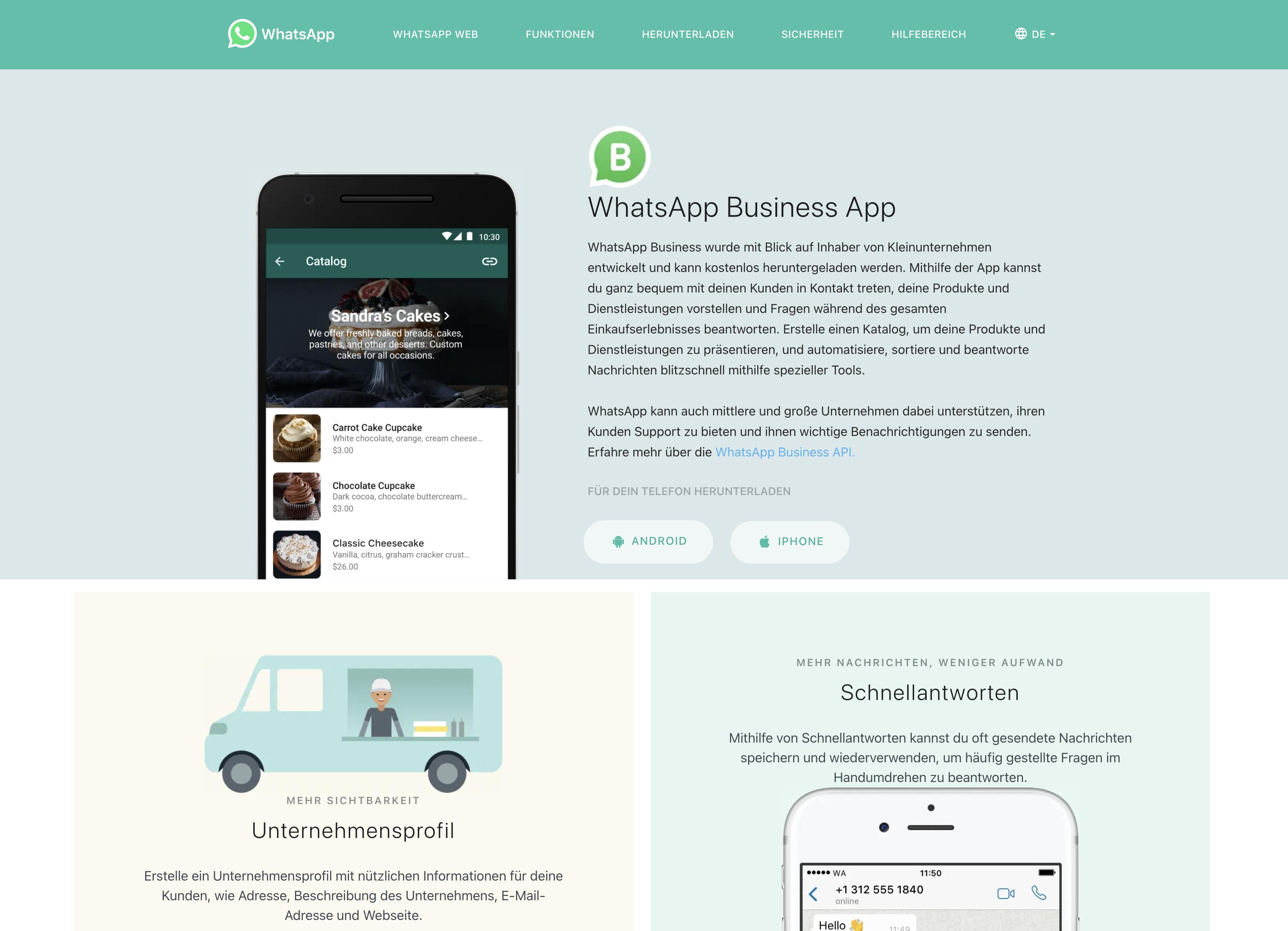 Facebook - WhatsApp Business